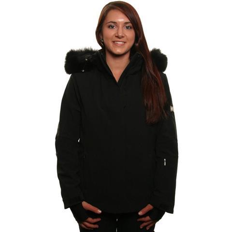 Nils Leah Real Fur Jacket Womens