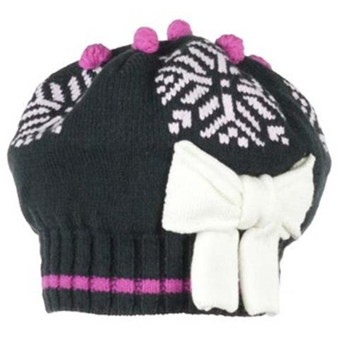 Obermeyer Snowflake Knit Beret Girls