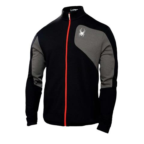 Spyder Eiger Wool Full Zip T Neck Mens