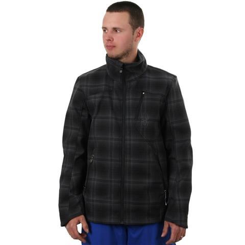 Spyder Patsch Novelty Hoody Soft Shell Jacket Mens