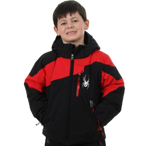 Spyder Mini Leader Jacket Boys