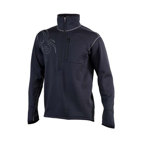 Spyder Bandit Half Zip Fleece Jacket Mens