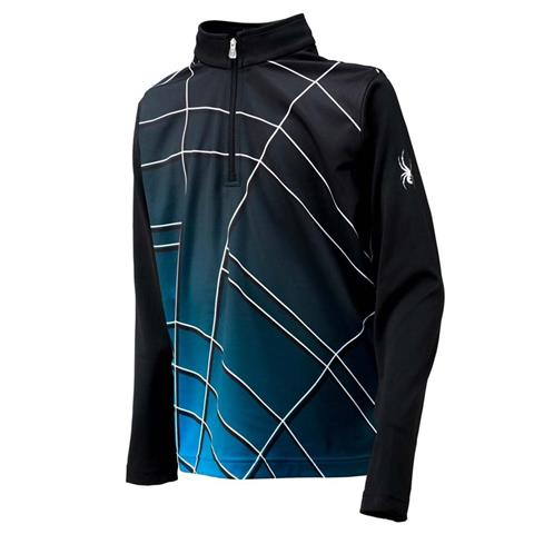 Spyder Gradient Web DryWeb T Neck Boys
