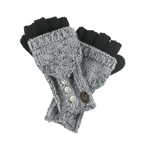 Turtle Fur Giselle Convertible Mittens Womens