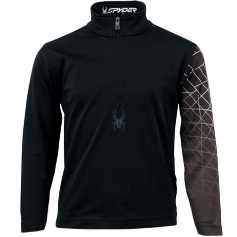 Spyder Mini Linear Web Dry Web T Neck Boys