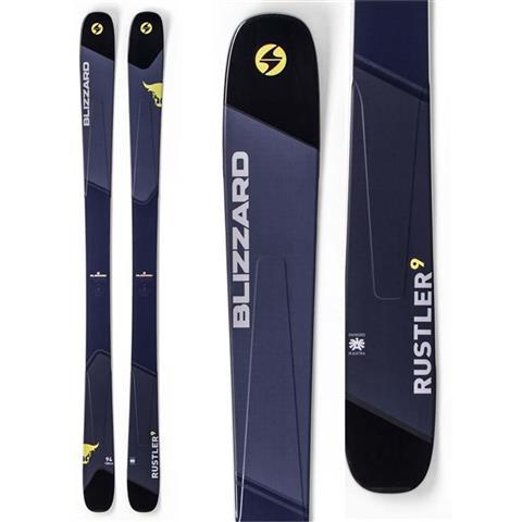 Blizzard Rustler 9 Skis Mens