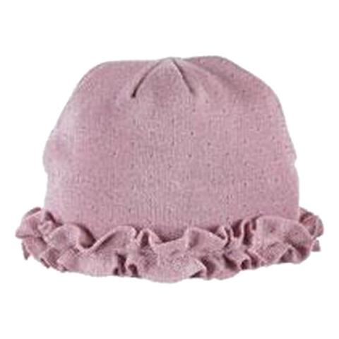 Turtle Fur Ruffle Hat