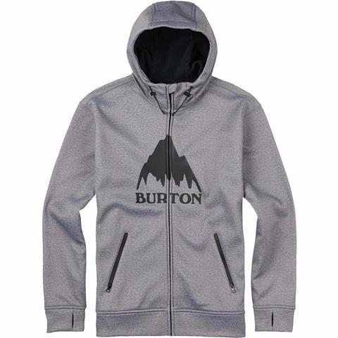 Burton Bonded Full Zip Hoodie Mens