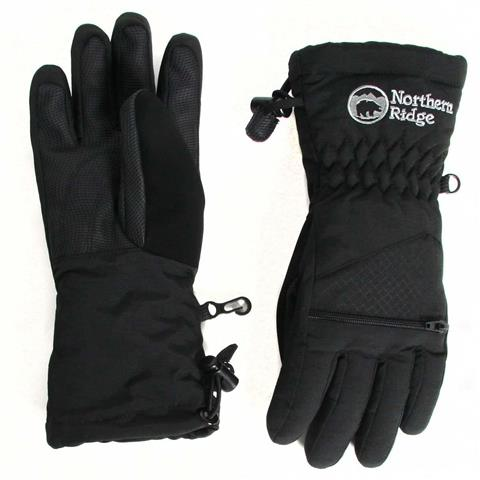 Northern Ridge Polar Bear Gloves Youth