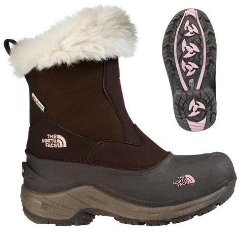 The North Face Greenland Zip Snow Boot Girls