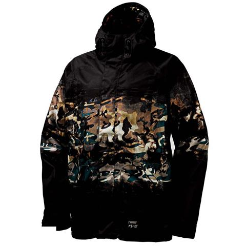 Burton Andy Warhol Hooded Jacket Mens