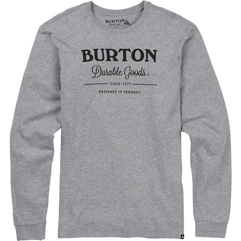 Burton Durable Goods Long Sleeve T Shirt Mens