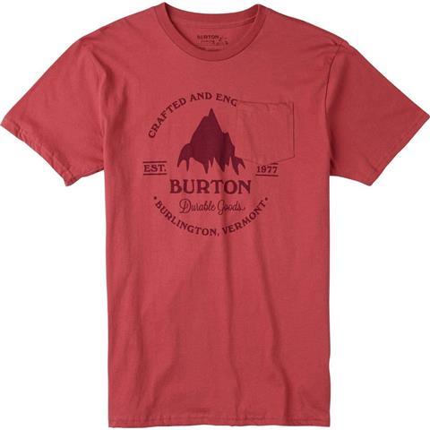 Burton Gristmill Slim Short Sleeve Tee Mens