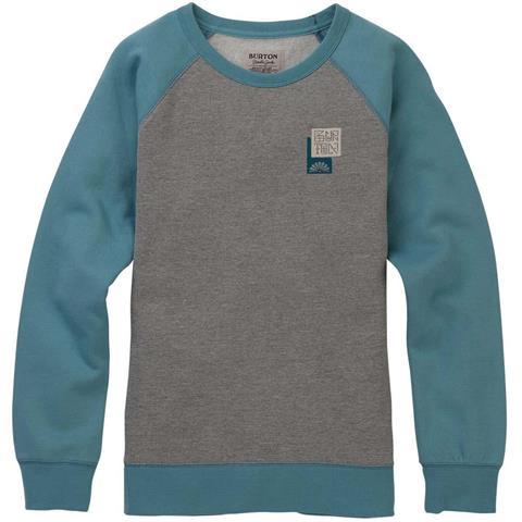 Burton Keeler Crew Sweatshirt Womens