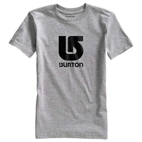 Burton Logo Vertical Short Sleeve T Shirt Boys