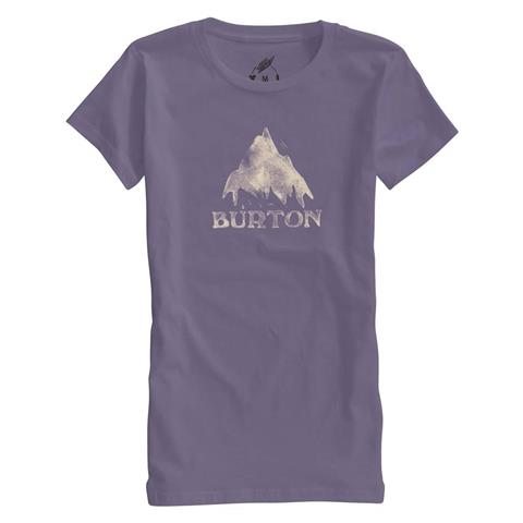 Burton Stamped Mountain Recycled Short Sleeve Tee Womens