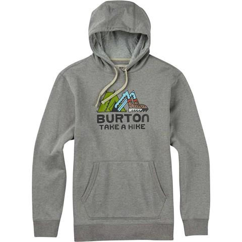 Burton Take A Hike Pullover Hoodie Mens