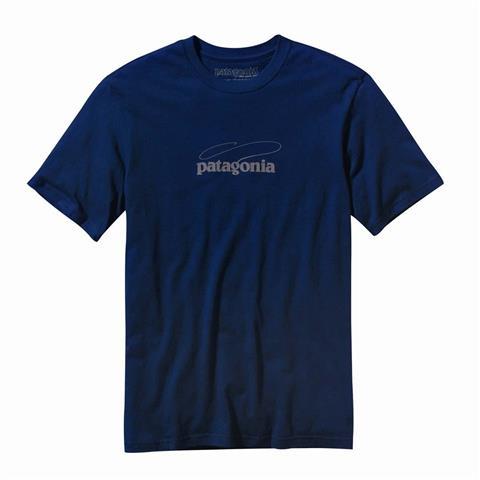 Patagonia Fish Logo T Shirt Mens