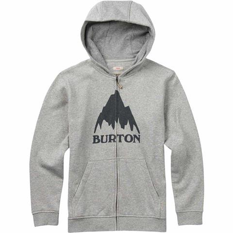Burton Classic Mountain Full Zip Hoodie Boys