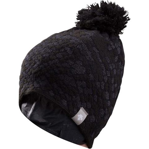 Descente Lola Fur Pom Hat Womens