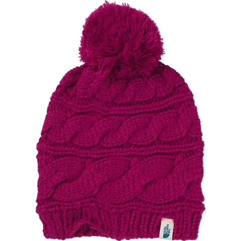 The North Face Triple Cable Pom Beanie Womens