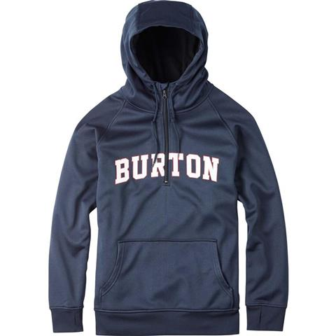 Burton Quarter Zip Bonded Hoodie Mens