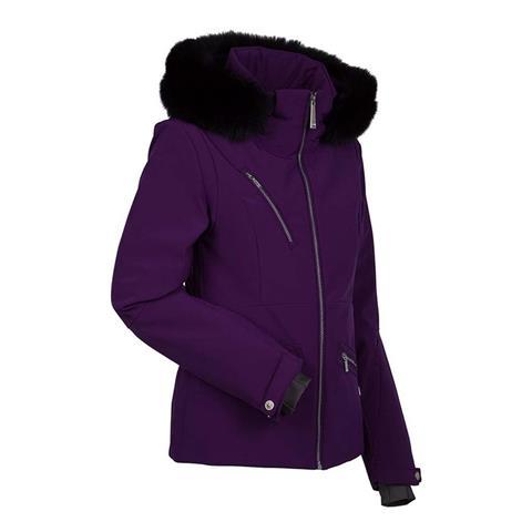 Nils Isabella Real Fur Jacket Womens