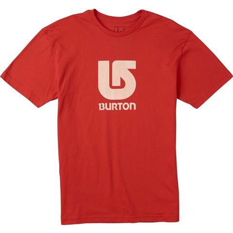 Burton Logo Vertical Fill SS Tee Mens