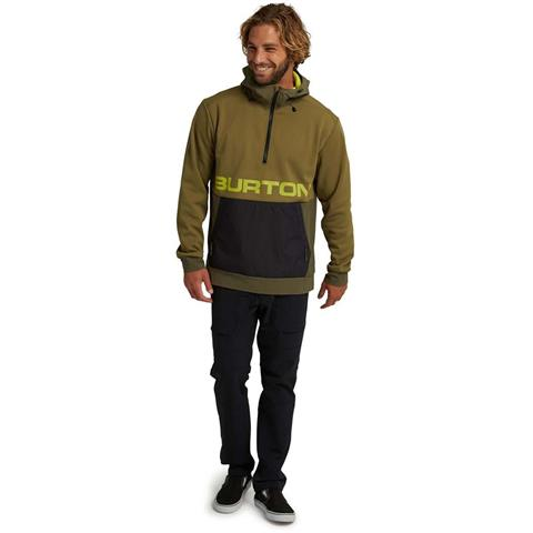 Burton Crown Bonded Performance Fleece Pullover - Men's