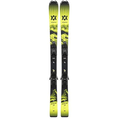 Volkl Deacon Jr. + 7.0 Vmotion Jr. Skis - Youth