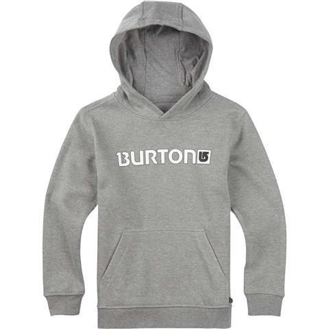 Burton Logo Horizontal Pullover Hoodie Boys