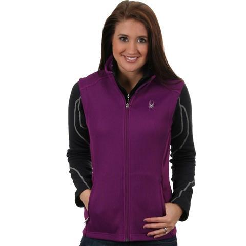 Spyder Melody Fullzip Lightweight Sweater Vest Womens