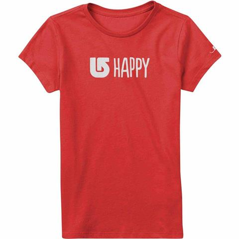 Burton Happy Short Sleeve T Shirt Girls