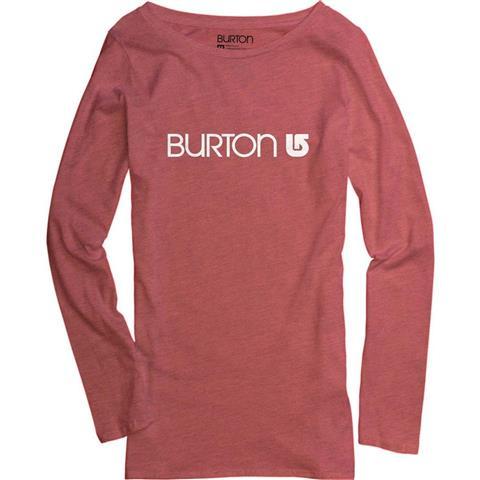 Burton Her Logo LS Tee Womens