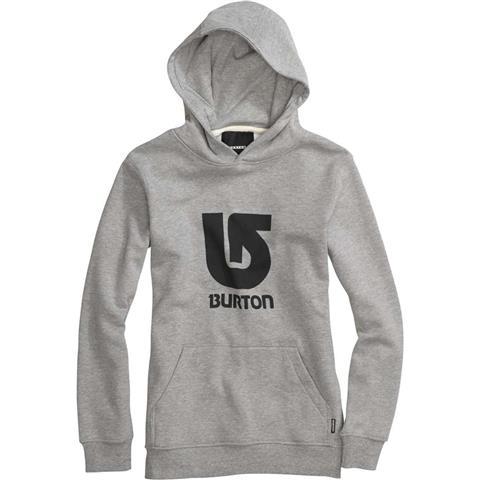 Burton Logo Vertical Pullover Hoodie Boys
