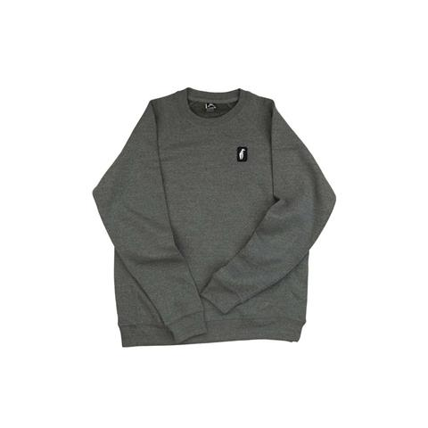 Crab Grab Claw Label Crew Pullover Mens