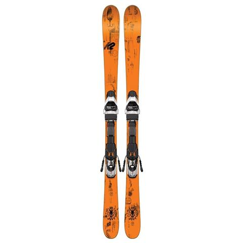 K2 Juvy Skis with Marker Fastrak2 4.5 Bindings - Youth