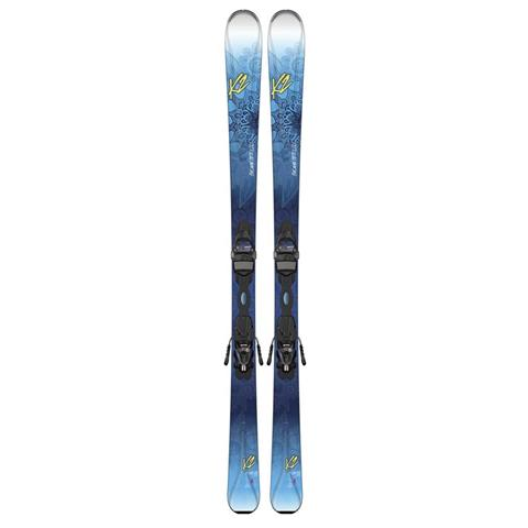 K2 Beluved 78Ti Skis with Marker ER3 10 TC Bindings