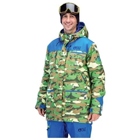 Picture Organic Clothing Rock Camo Jacket Mens