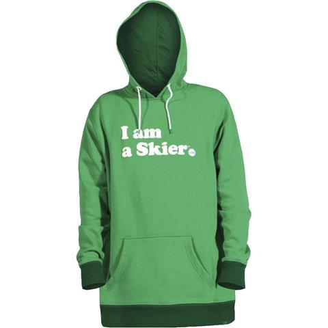 Line I Am A Skier Pullover Mens