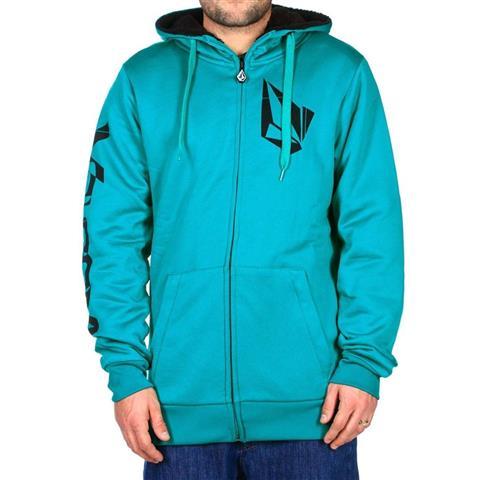 Volcom Logo Sherpa Lined Fleece Mens