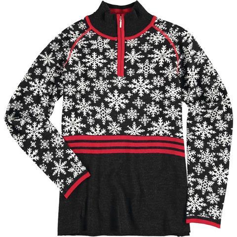 Krimson Klover Eva Maria 1/4 Zip Pullover Sweater Womens