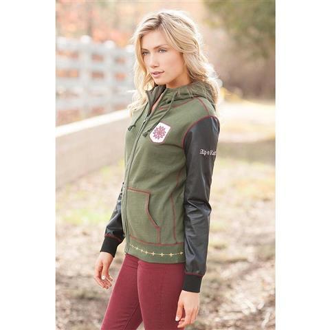 Alp N Rock Alpine Vintage Hooded Sweatershirt Womens