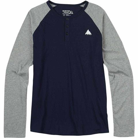 Burton Lifty Henley Long Sleeve Shirt Mens