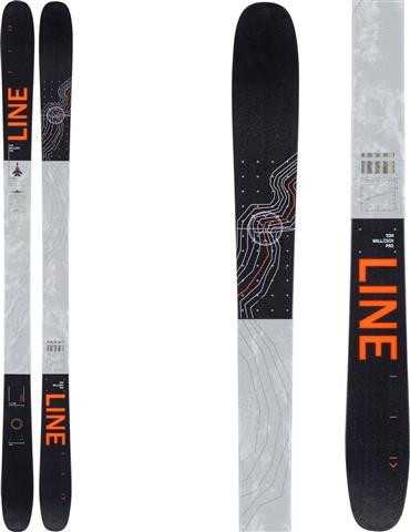 Line Tom Wallisch Pro Skis - Men's