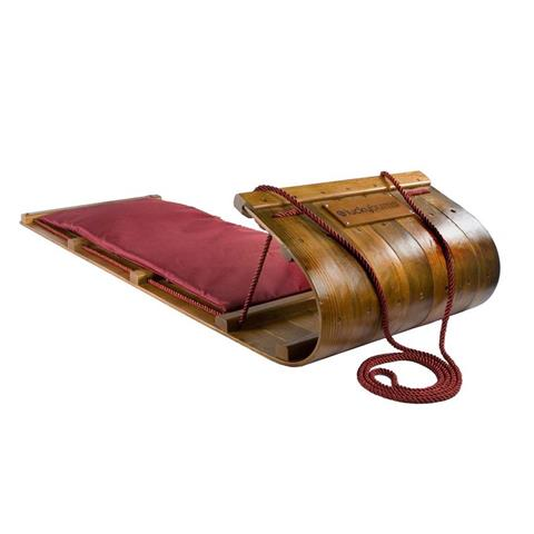 Lucky Bums Heirloom Wood Toboggan