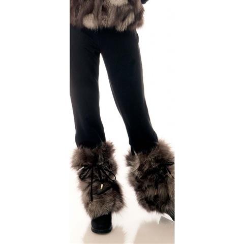 M. Miller Kylie Fur Leg Warmers Womens