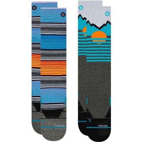 Stance Mountain 2 Pack Socks Mens