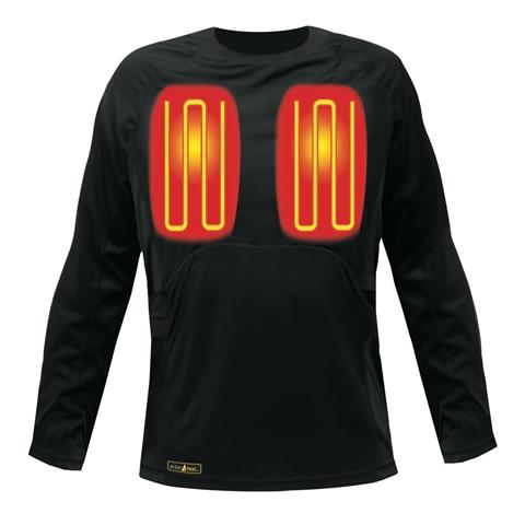 ActionHeat 5V Heated Base Layer Top - Men's