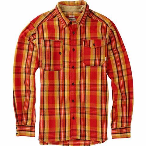 Burton Mill Long Sleeve Woven Shirt Mens